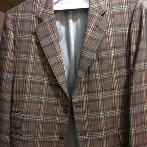 Bespoke, fine Italian wool men's sportswear